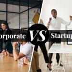 corporate versus startup bmtd