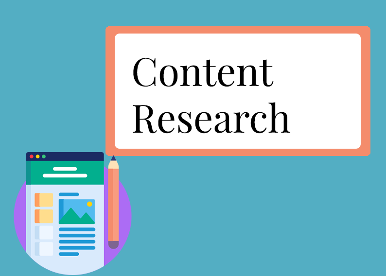 Keyword and content research